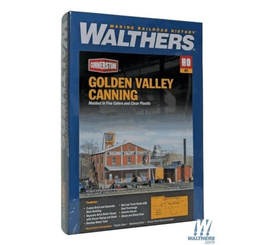 Walthers : HO Golden Valley Canning Co.