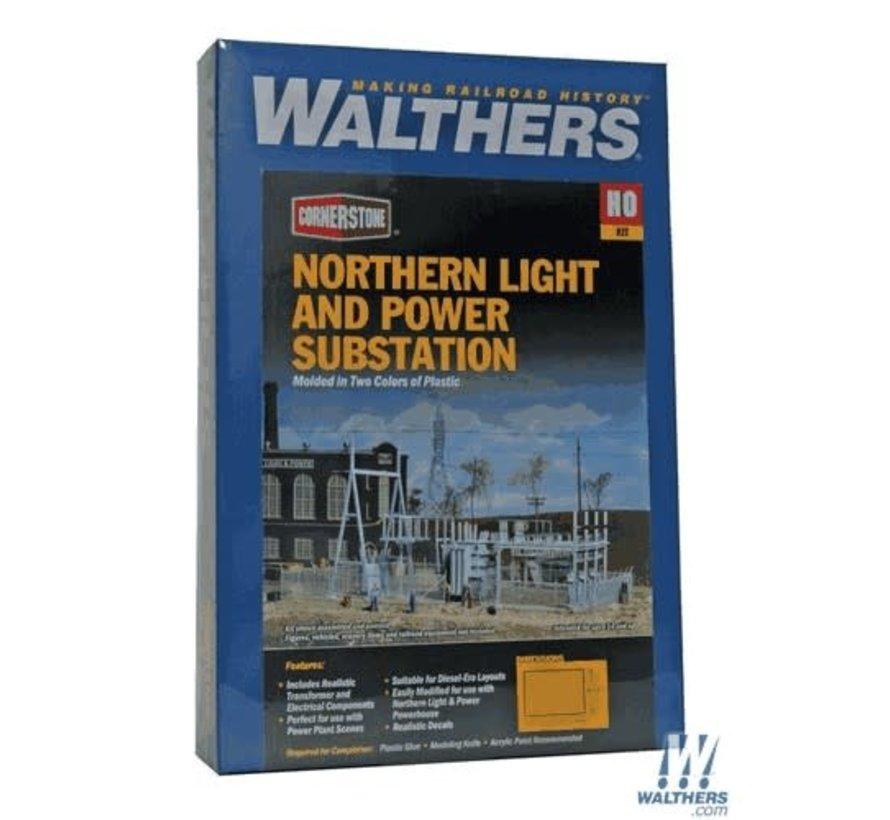 Walthers : HO NL&P Substation Kit
