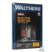 WALTHERS WALT-933-3086 - Walthers : HO Blue Star Ready Mix Plant
