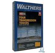 WALTHERS WALT-933-3121 - Walthers : HO Transmission Towers 4/