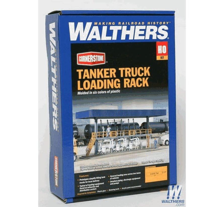 Walthers : HO Tanker Truck Loading Rack