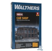WALTHERS Walthers : N Car Shop Kit