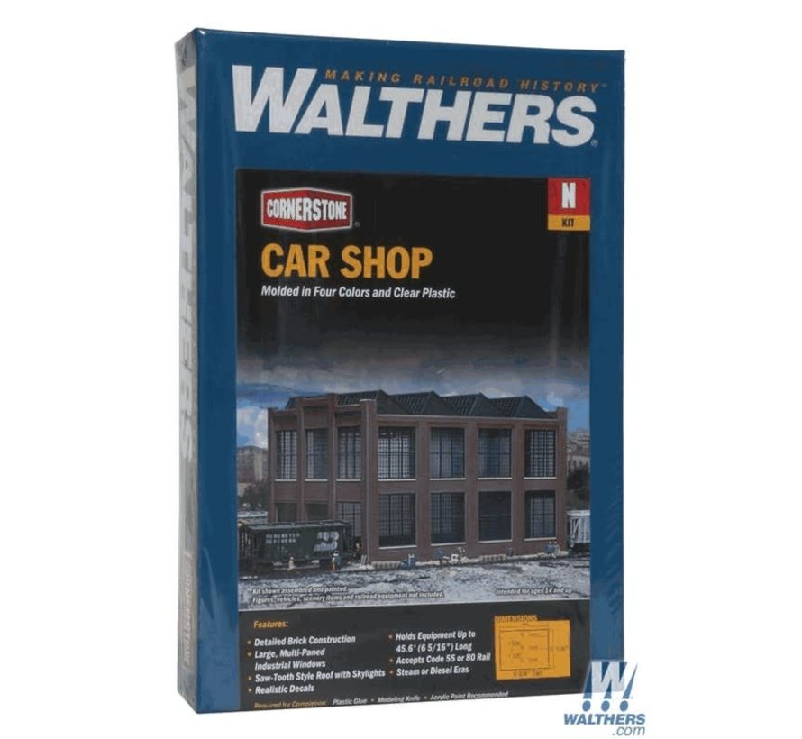 Walthers : N Car Shop Kit
