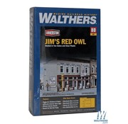 WALTHERS WALT-933-3472 - Walthers : HO Jim's Red Owl Kit