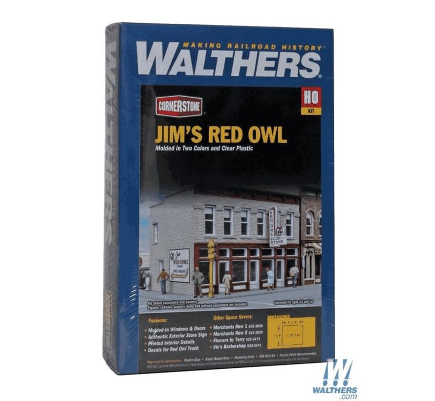 Walthers : HO Jim's Red Owl Kit