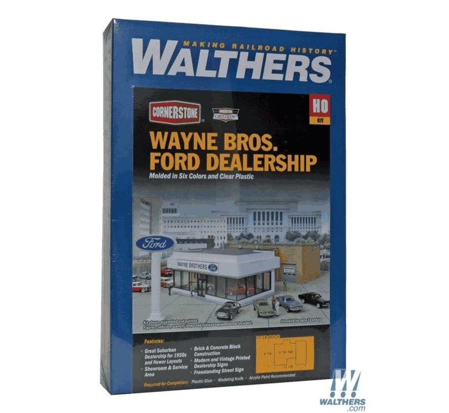 Walthers : HO Wayne Bros. FORD Dlrshp