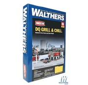 WALTHERS WALT-933-3485 - Walthers : HO DQ Grill & Chill(R) Kit