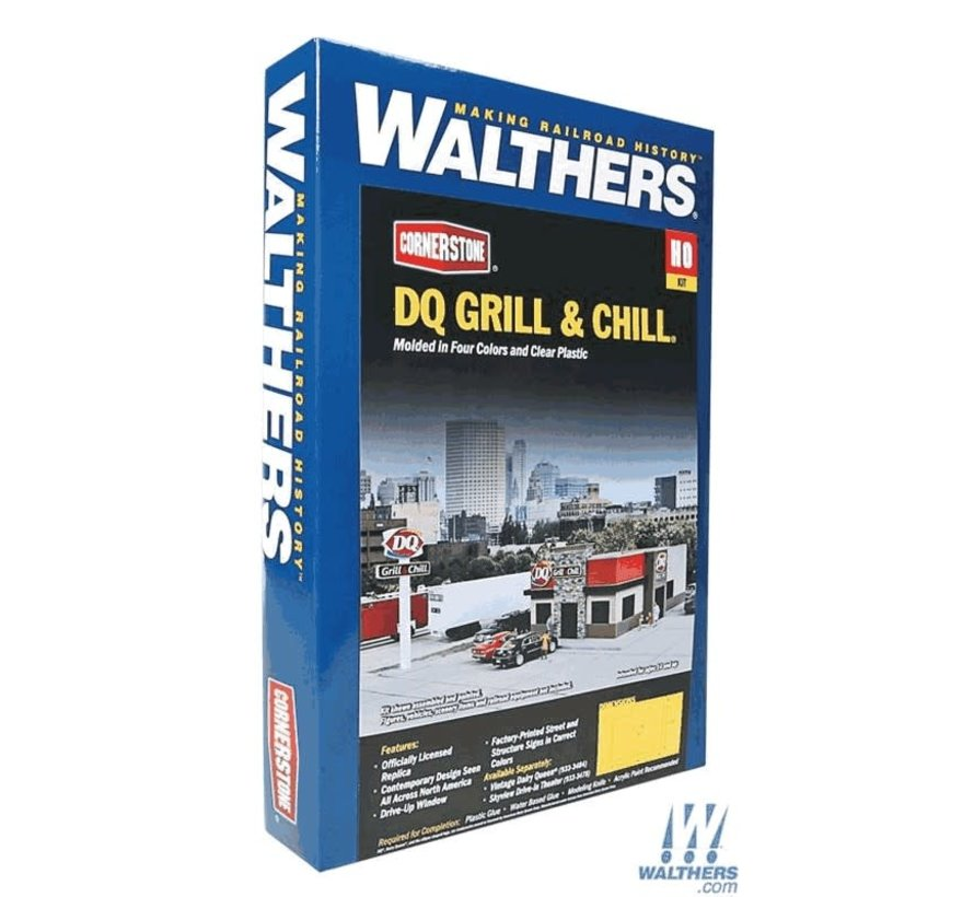 Walthers : HO DQ Grill & Chill(R) Kit