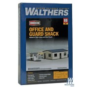 WALTHERS WALT-933-3517 - Walthers : HO Office and Guard Shack
