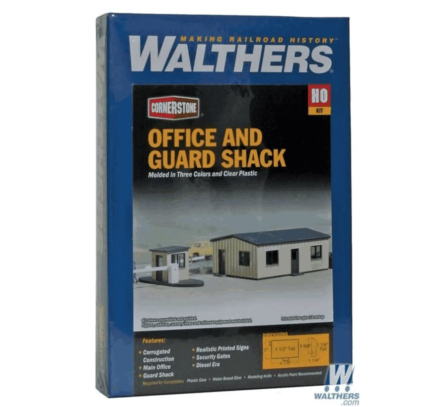 Walthers : HO Office and Guard Shack
