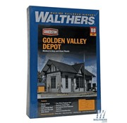 WALTHERS Walthers : HO Golden Valley Depot Kit