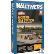 WALTHERS WALT-933-3537 - Walthers : HO Modern Gas Station Kit