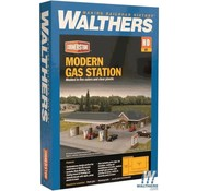 WALTHERS Walthers : HO Modern Gas Station Kit