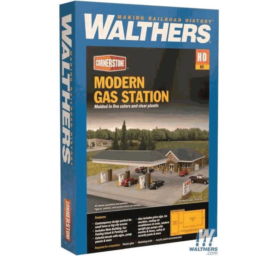 Walthers : HO Modern Gas Station Kit