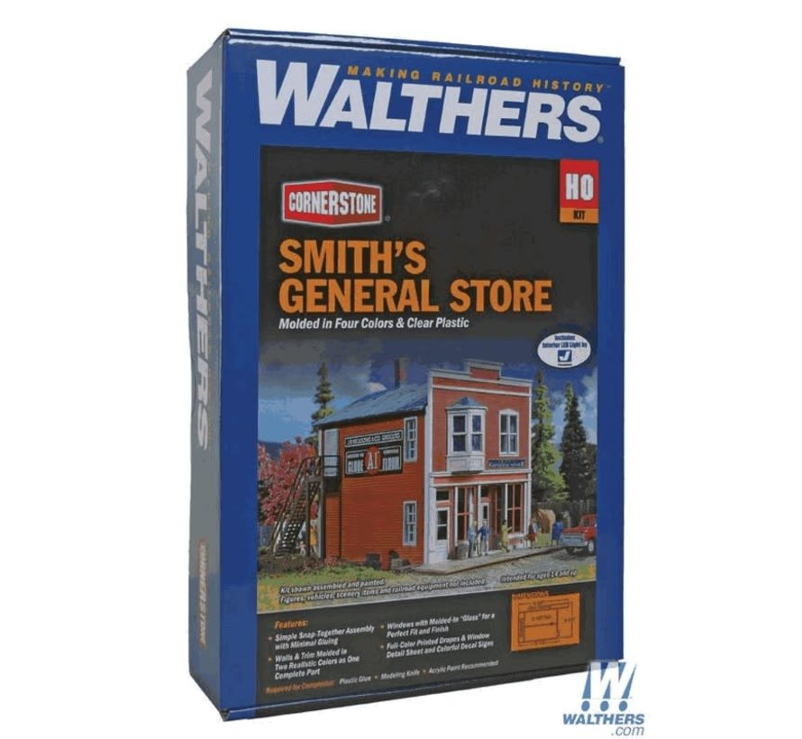 Walthers : HO Smith's General Store Kit