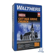 WALTHERS Walthers : HO Cottage Grove Church Kit