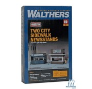 WALTHERS Walthers : HO Newsstand Kits 2/