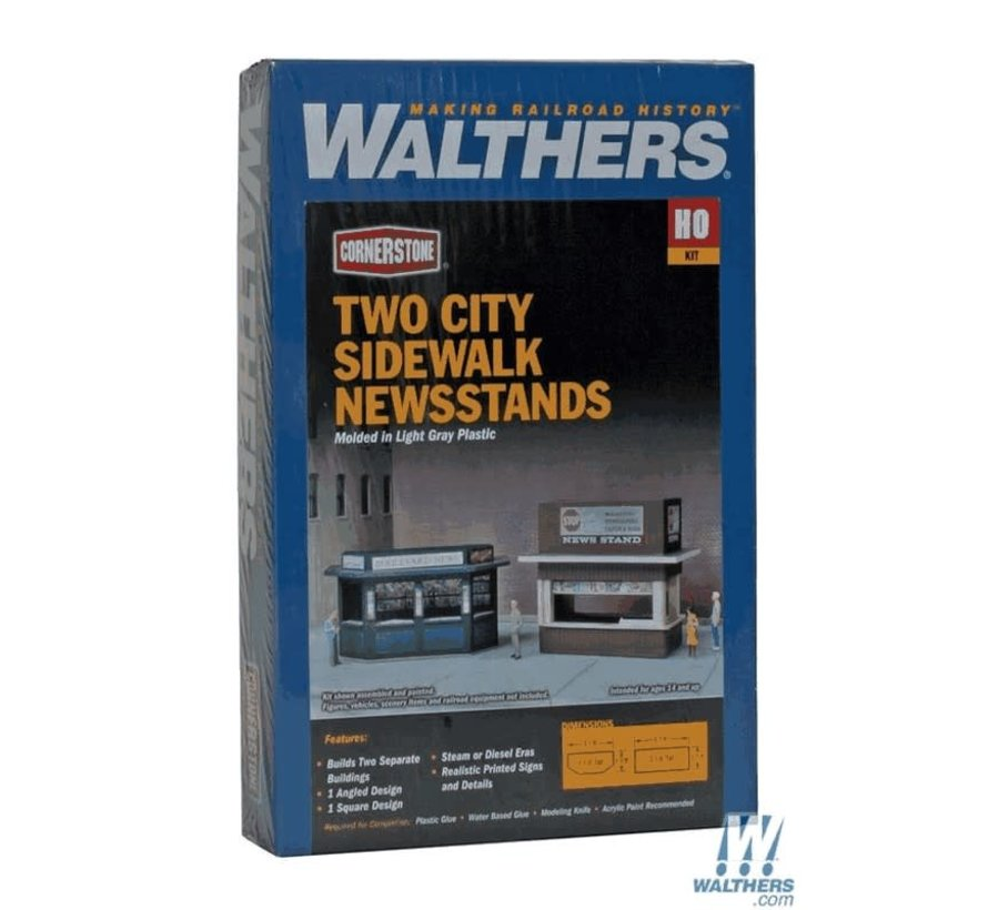 Walthers : HO Newsstand Kits 2/