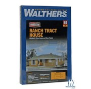 WALTHERS WALT-933-3777 - Walthers : HO Ranch Tract House Kit