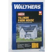 WALTHERS Walthers : HO Tillman Farm House Kit