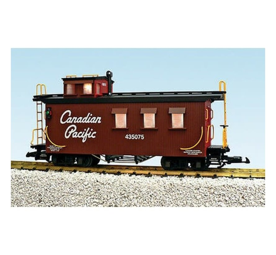 USA : G CP Wood . Caboose