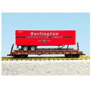 USA TRAINS USA : G Burlington Route Flat