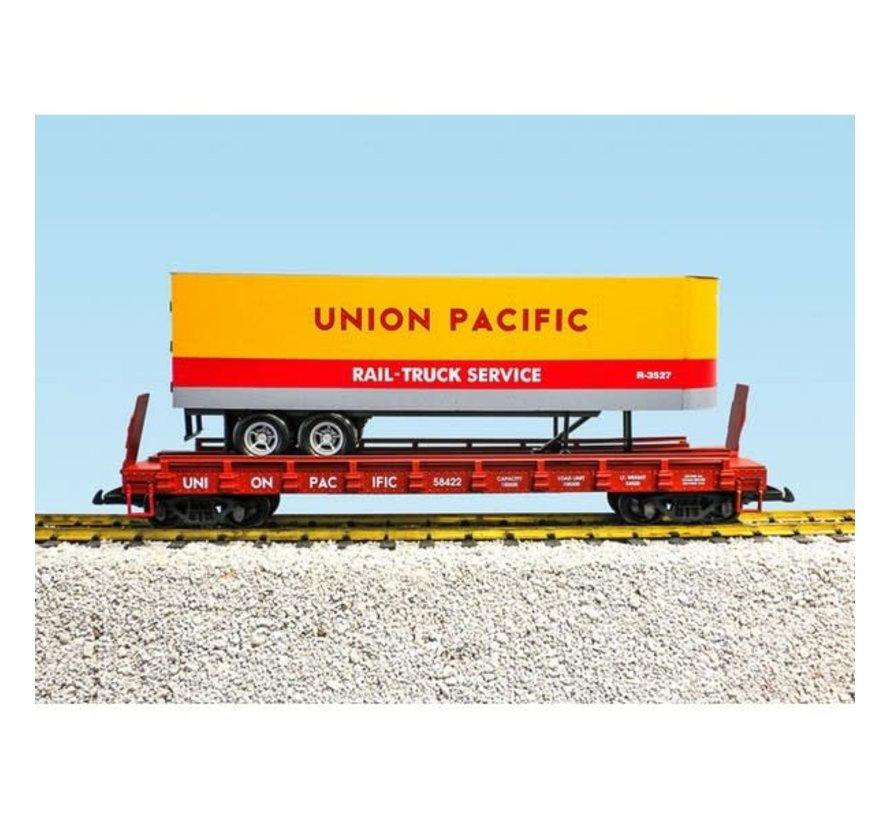 USA Trains : G UP Piggy Back Flat Car