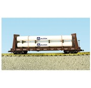 USA TRAINS USA-R17616A - USA : G CP Pipe Car