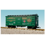 USA TRAINS USA : G CN Wood Box Car