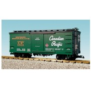 USA TRAINS USA-R19083 - USA : G CP Wood Box Car