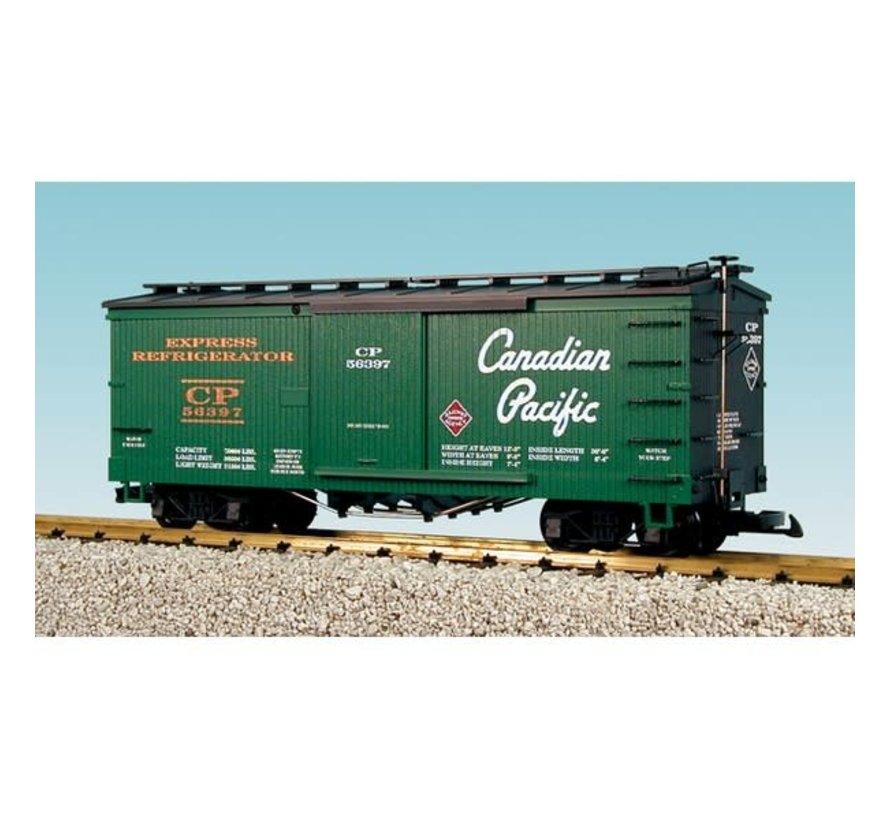 USA : G CP Wood Box Car