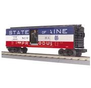 MTH MTH-30-79643 - MTH : O NH Operating Box Car w/Signal Man