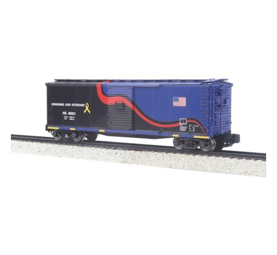MTH : S Rebuilt Steel Box, NS Veterans