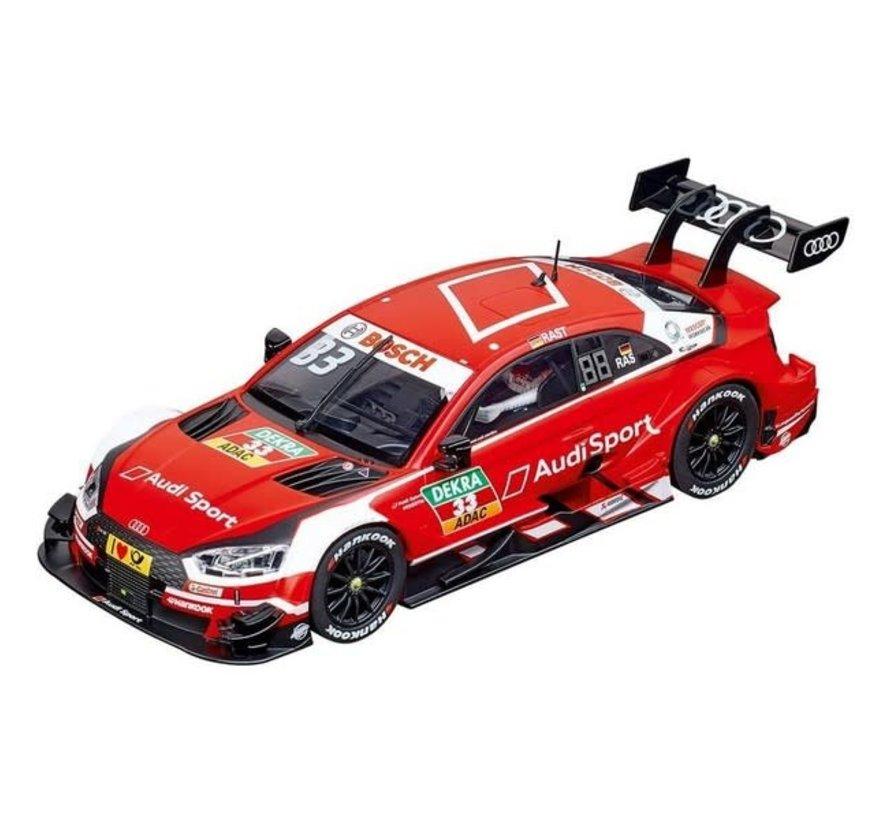 """Carerra : DIG124 Audi RS 5 DTM """"R.Rast, No.33"""", 2018"""