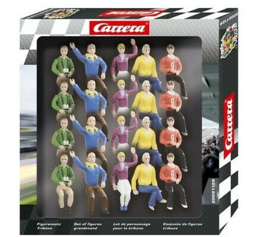 Carrera : Figures Spectators GrandStand