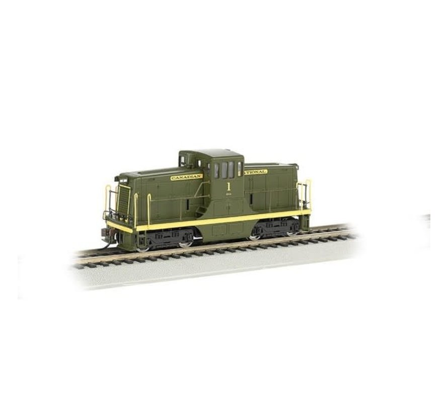 Bachmann : HO CN GE 44 ton Swtcher DCC