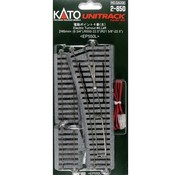KATO KAT-2850 - Kato : HO Track #4 Left Manual Switch