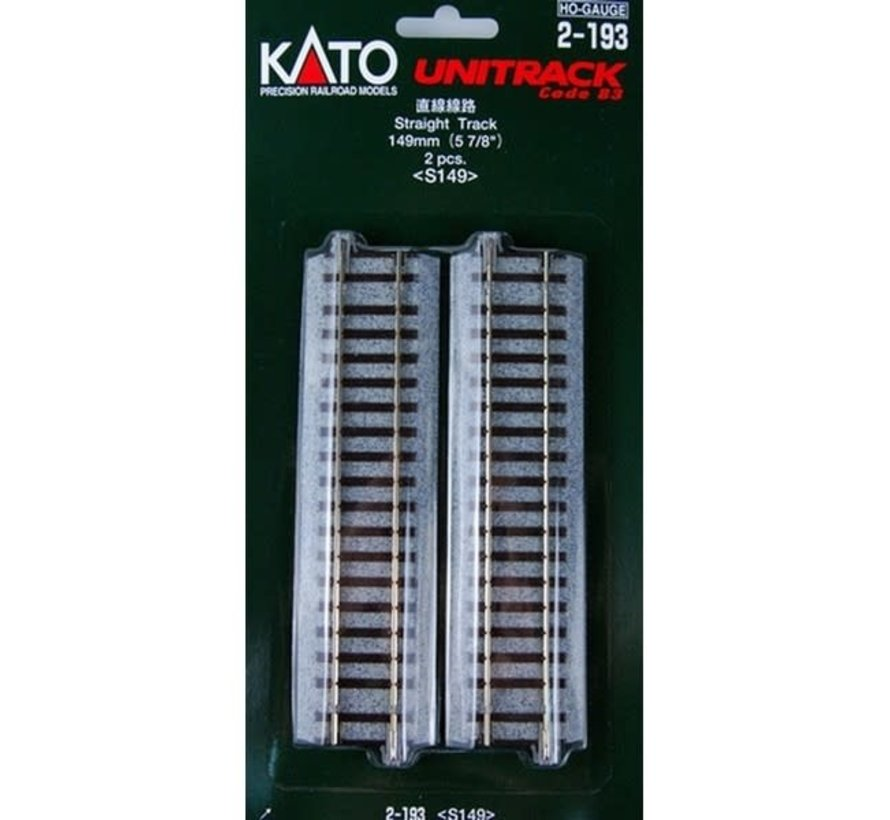 Kato : HO Track 149mm Straight