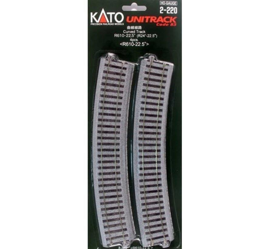 Kato : HO Track R610 Curve
