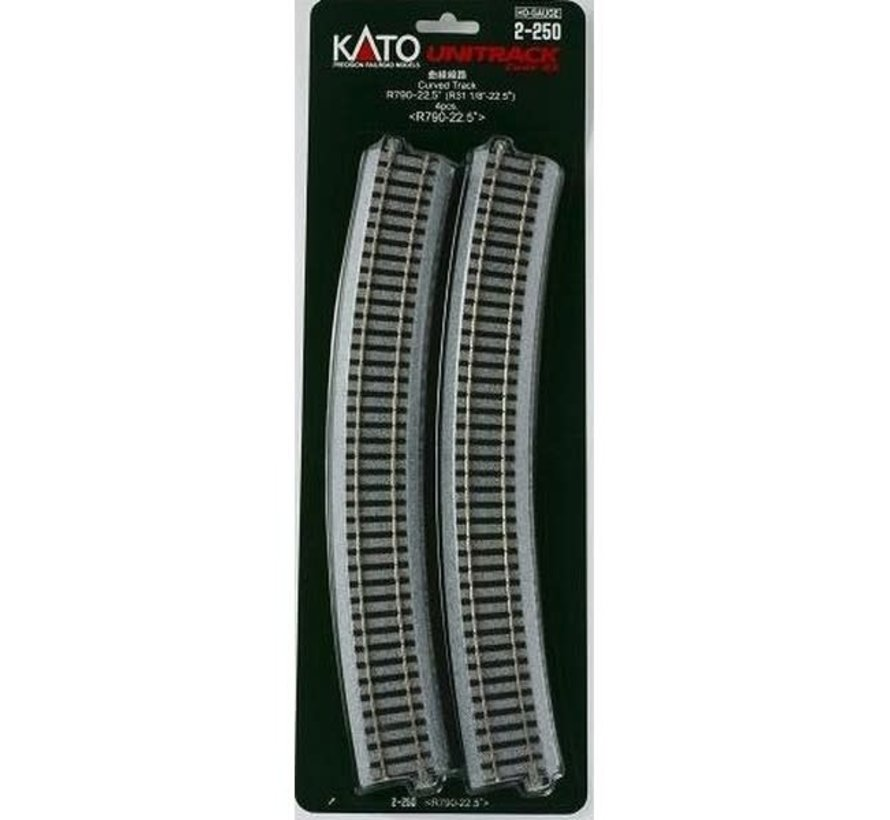 Kato : HO Track R790 Curves