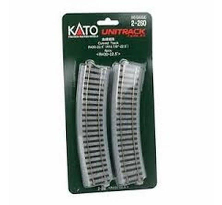 Kato : HO Track R430 Curves