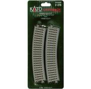 KATO KAT-2270 - Kato : HO R490 Curves