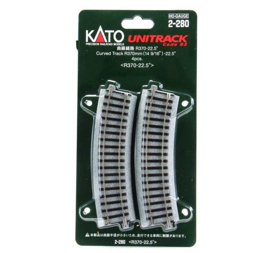 Kato : HO R370 Curves
