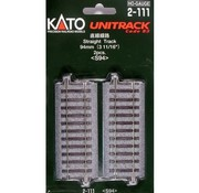 KATO KAT-2111 - Kato : HO Track 94mm Straight 4pcs