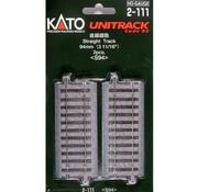 KATO Kato : HO Track 94mm Straight 4pcs