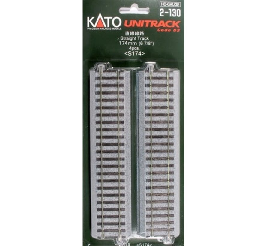 Kato : HO Track 174 mm Straight
