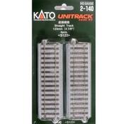 KATO KAT-2140 - Kato : HO Track 123mm Straight