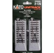 KATO KAT-2170 - Kato : HO Track 109mm + bumper