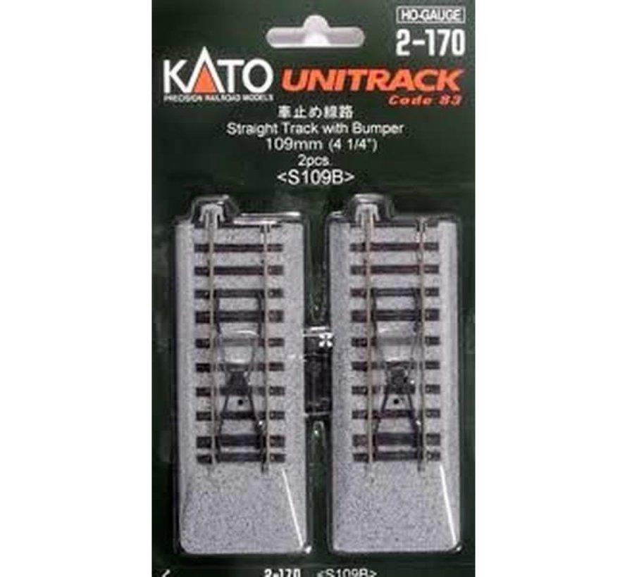 Kato : HO Track 109mm + bumper
