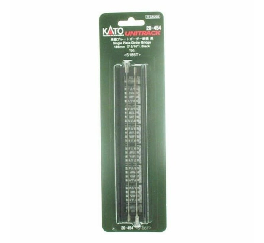 Kato : N 186mm Plate Girder Bridge Black